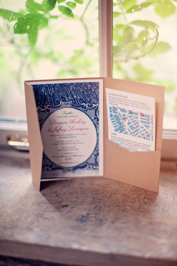 second wedding invitations wording%0A New York wedding invitation