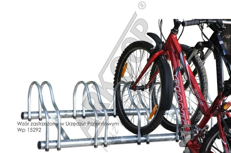 galvanized bicycle stand