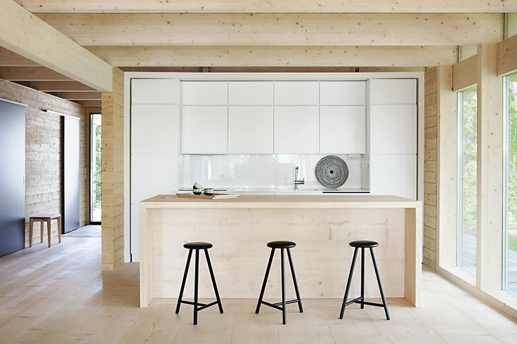 SEPTEMBER STORIES: The LINEA Perch bar stools are designed by Wesley Walters & Salla Luhtasela, and the new high version (750mm) suits especially high bar tables (height 1050mm-1100mm). The lower version, LINEA Perch stool (630mm), is designed for bar table heights of 900mm-950mm. Both are made of solid oak, and the surface treatment is natural wood oil mixture or black stain.