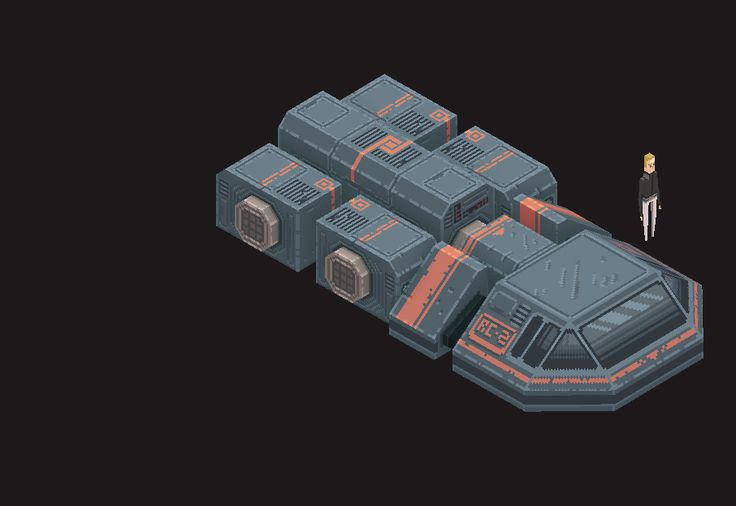 Modular spaceship by Anil Demir