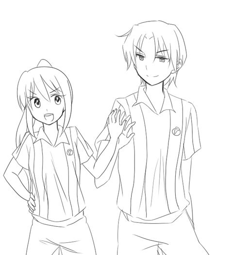 Erika and Ouzou