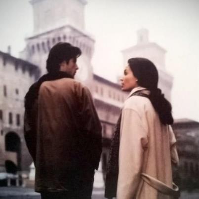 """Silvano e Carmen (Kim Rossi Stewart e Ines Sastre), """"Al di là delle nuvole"""" di Michelangelo Antonioni"""