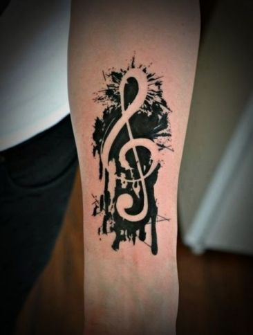 Black Music Tattoo