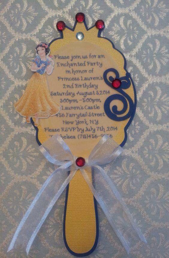 Invitación Blanca Nieves