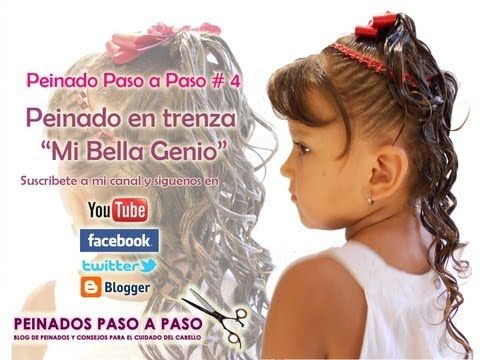 "Peinado Paso a Paso # 4 - Peinado en Trenza ""Mi Bella Genio"""