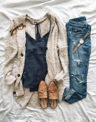 Awesome 38 Amazing and Cozy Casual Outfits For Inspiration On Fall 2018 outfital…