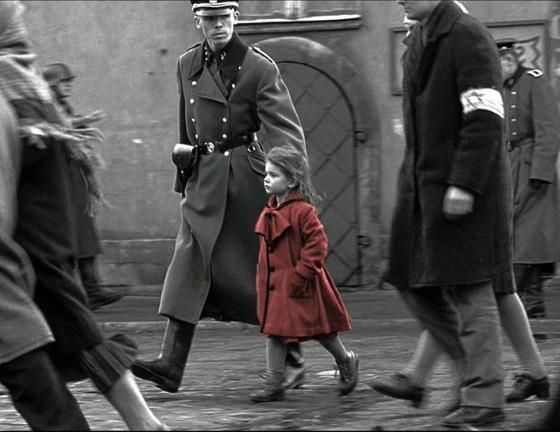 Shindler's List: I have always toyed with the idea of doing a piece with a Holocaust theme.