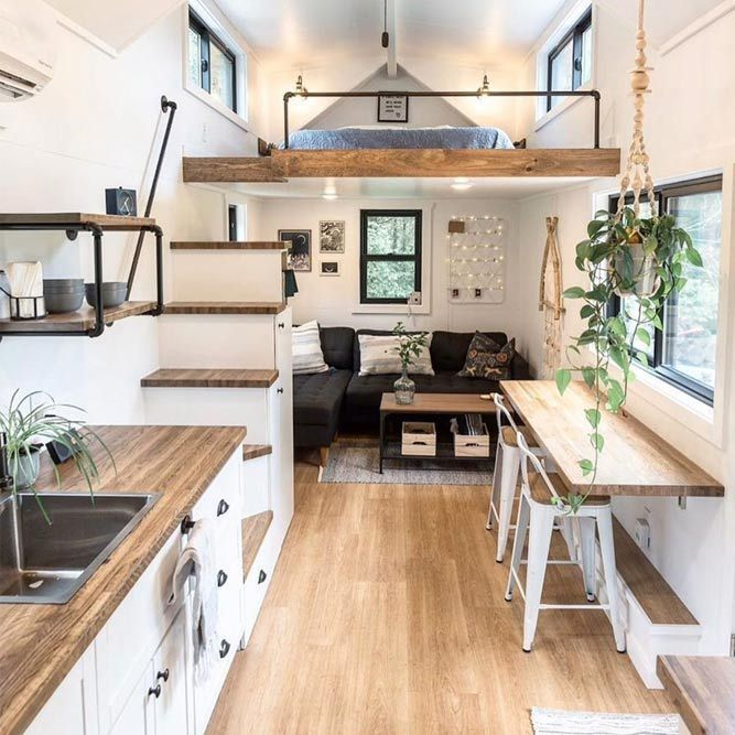 Small and cozy studio apartment ideas for either ...
