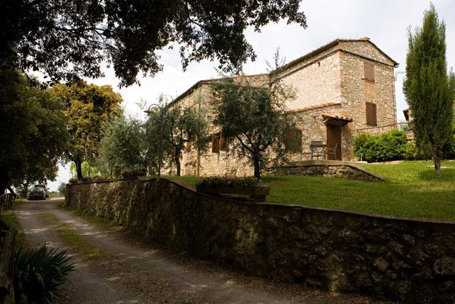 Agriturismo di pregio nel Chianti, a Monteriggioni.