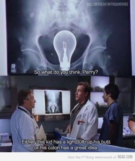 Scrubs was a really great TV show.