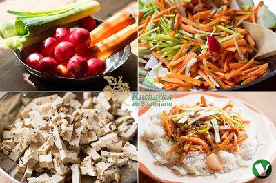 Sladkokyselá zelenina s rýží