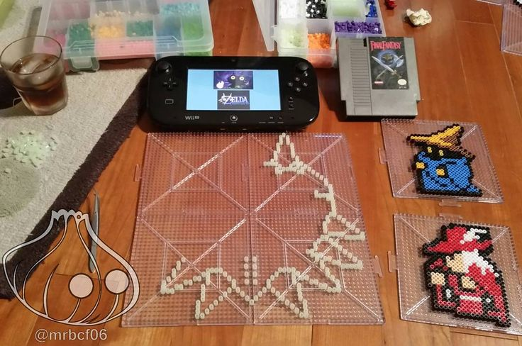 On instagram by mrbcf06  #retrogaming #microhobbit (o)  http://ift.tt/1PlPVs1  Glowing in the dark majora's mask anyone?! The switch outline may look a little weird with the lights on but I am betting those light go off and might just be cool :) Update pic later when finished :) Some random mages creepin' while I work... #ninstagram #nintendoworld #nintendo #nes #igersnintendo #n64 #legendofzelda #loz #majorasmask #reteogames #retrogamer  #oldschoolgaming #finalfantasy #perler #perlers…