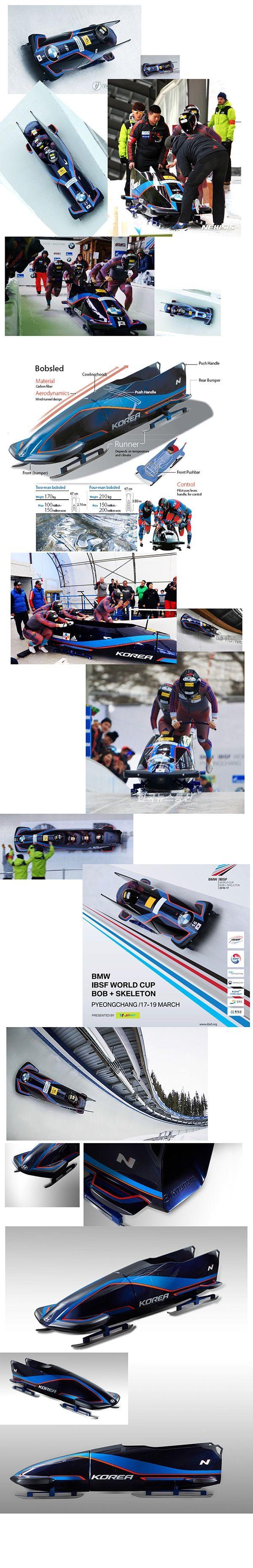 Korea team bobsleigh design