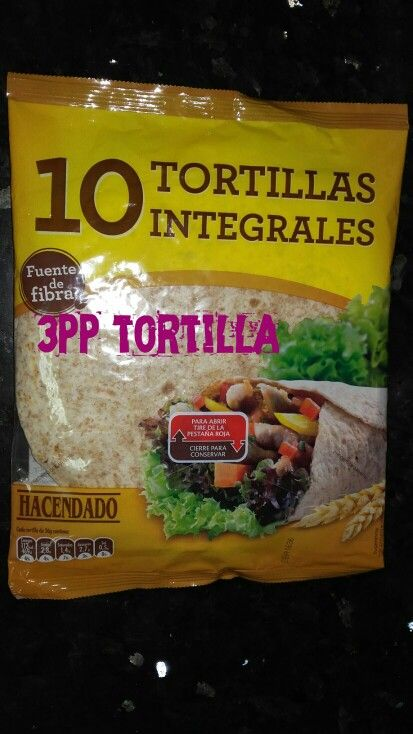 Tortillas mexicanas integrales
