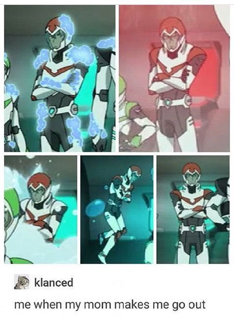 Voltron Preferences & Imagines/One-Shots - He Turns Into A