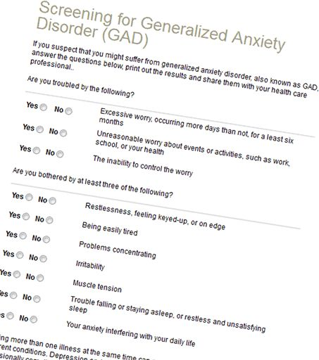 SCREENING TOOLS for depression, anxiety, and many more. Good resource!