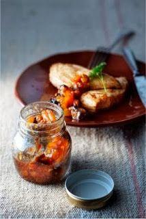 Abrikozen chutney met kerrie