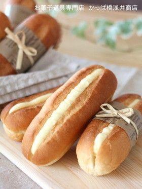 ホットドッグ型でミルクフランス by かっぱ橋浅井商店 [クックパッド ...