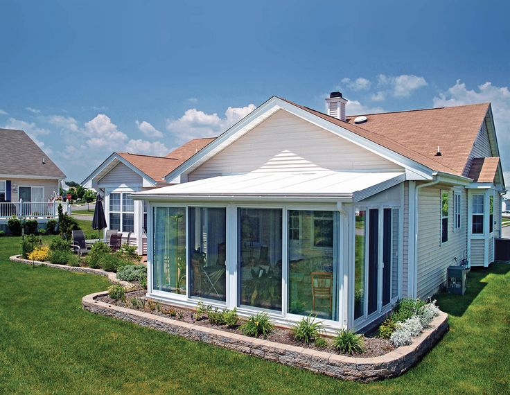 25 best ideas about sunroom kits on pinterest porch for Front porch roof kits