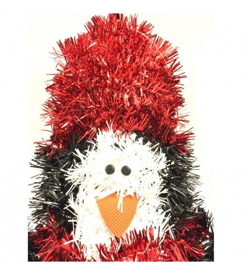 Amazing #Christmas Offers @4Pound Get 30% Off on your orders. Pick your Favourite now : http://www.4pound.co.uk/tinsel-wall-plaque-penguin