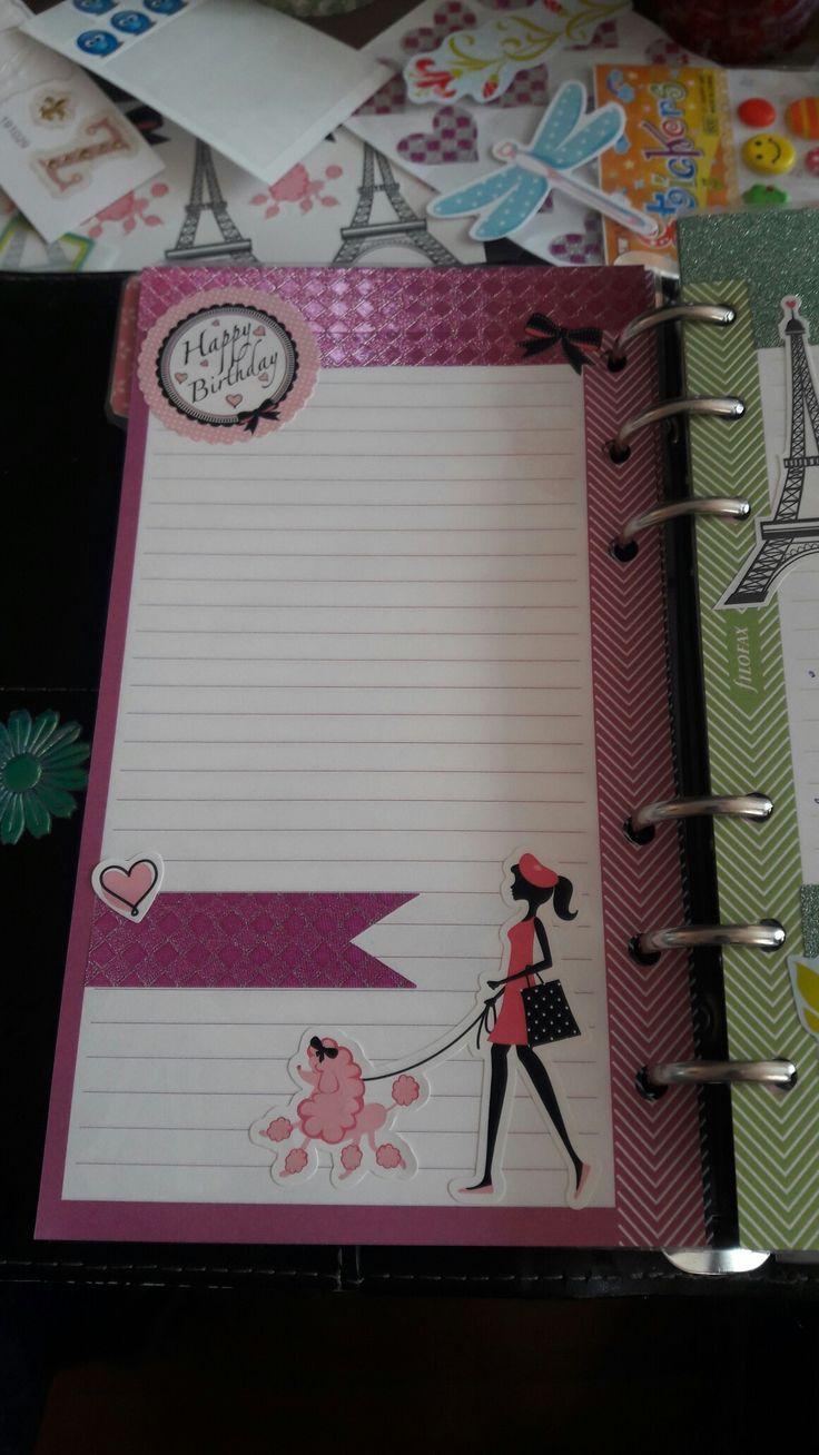 #filofax #filofaxing #planner #organiser #diary #diy