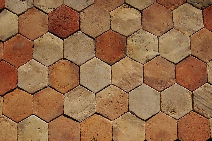 1000 Images About Hexagon Terracotta Floor Tiles