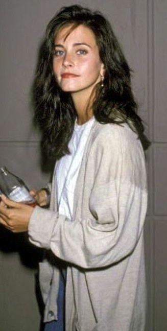 Courteney Cox (young) as Monica E. Geller-Bing