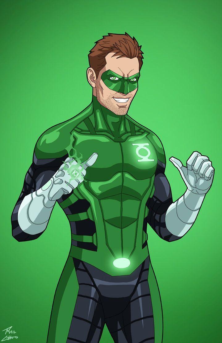 Green Lantern Hal Jordan (Earth-27) commission by phil-cho on DeviantArt
