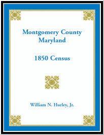 Montgomery County, Maryland, 1850 Census