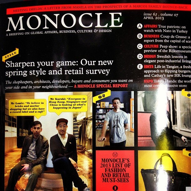 #OutNow the #New #Monocle #Magazine order online FindYourMag.com #worldwide #Delivery or #collect from #store #MelcombeNews #Marylebone #london #NW1 6JE    This Issue   Sharpen Your game: Our New Spring Style and retail Survey   A; Affairs True Patriots; on watch with Nato in turkey  B: Business Coup de Grasse: a Report from the capital of scent  C; culture Peep show a special preview of Rijsmuseum  D: Design Swedish lessons in elegant post-industrial living