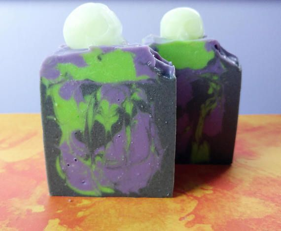 Mistress of Misery Patchouli Soap Halloween Soap Artisan