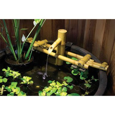 Exceptional Asian Bamboo Fountain Kit. Garden PondsBamboo ...