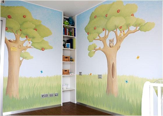 Stencil cameretta bambini stencil parete bambini ikea for Ikea stampe parete
