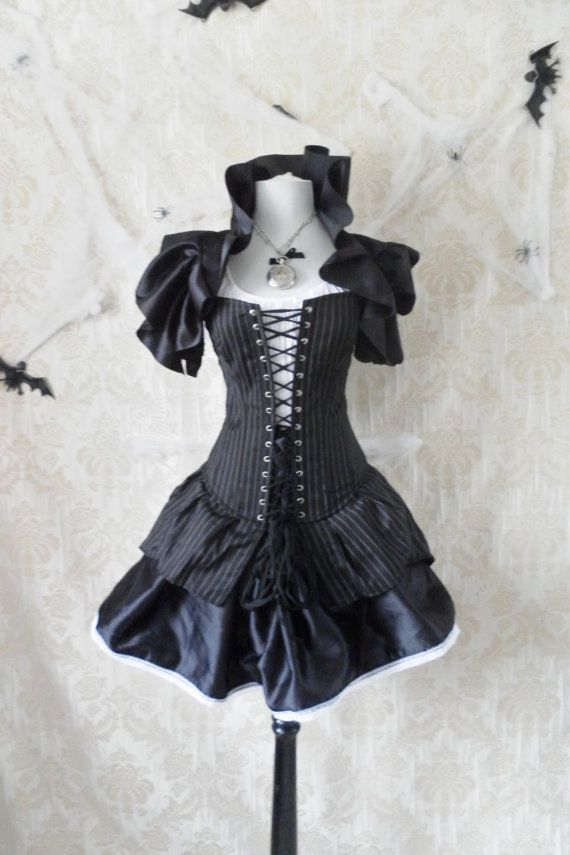 Last One-High Seas Pirate Corset Costume -Whole Outfit-For A 26-27 Inch Natural Waist-READY TO SHIP via Etsy