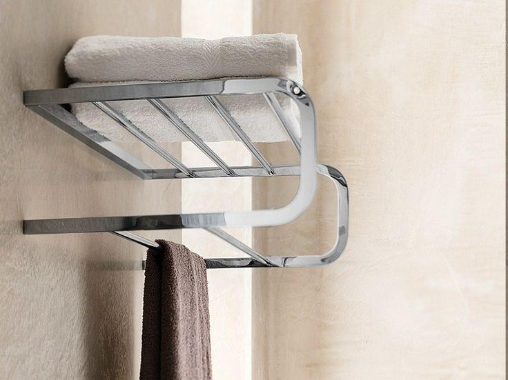 Toalheiro de metal Coleção Loop by Carlo Nobili S.p.A Rubinetterie | design Piet Billekens