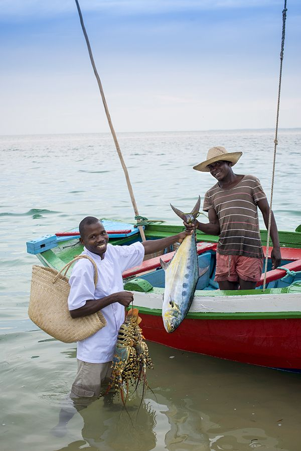 Surf-fresh #seafood is one of the highlights at Benguerra Island Lodge  in #Mozambique. #GourmetAfrica #Africa #travel #beach #island #cuisine #foodie