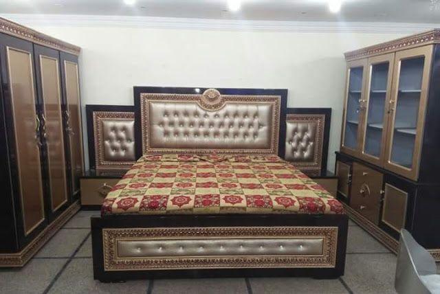 Lasani Wood Furniture Design In Pakistan Bed Furniture Design Furniture Wood Furniture Design