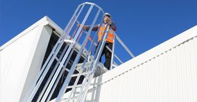 Do you need a Roof Access Ladder? Anchored offers custom designed ladders to meet your site requirements. Contact us today for a free consultation.