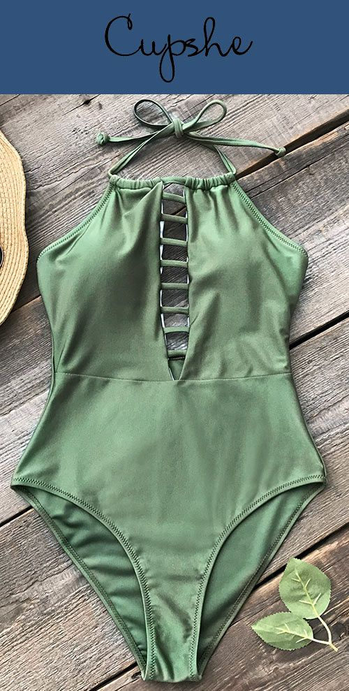 New Year New Arrival! For beach vacays, we can't help but love the Cupshe swimsuit. Celebrate holiday with a glamorous one-piece swimsuit. Solid color makes you cute and elegant. Show off your unique beauty. Shop now~