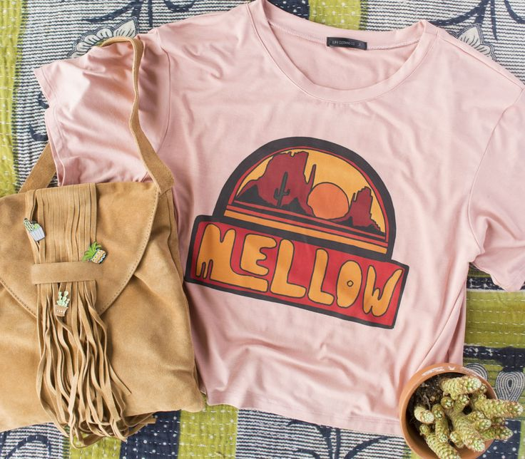 Mellow Crop T-shirt - Earthbound Trading Company