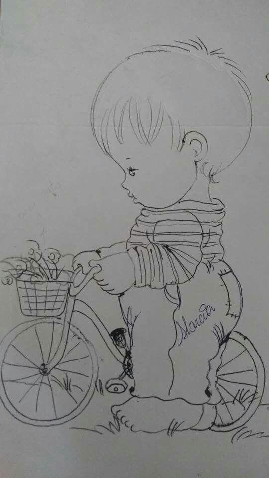 Menino e a bicicleta                                                       …