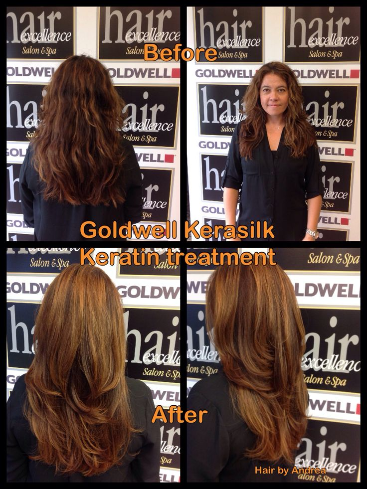 Goldwell Kerasilk Keratin Smoothing Treatment- hair by Andrea