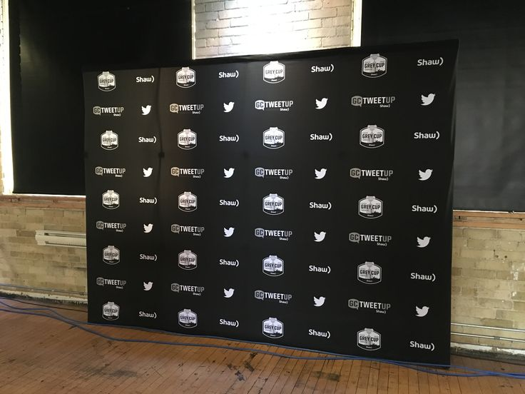 Fabric Walls - great easy backdrop for any event or tradeshow