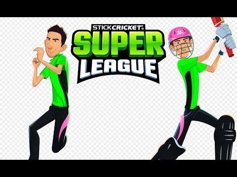 Stick Cricket Super League | Cricket games play | Play cricket games