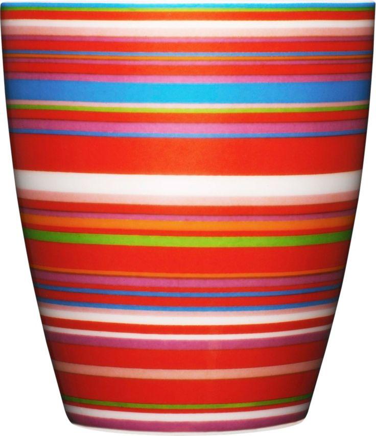 Iittala - Origo Mug 0,25 l red - Iittala.com