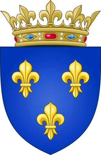 Arms of the Kingdom of France (Moderne) - Drapeau de la France — Wikipédia