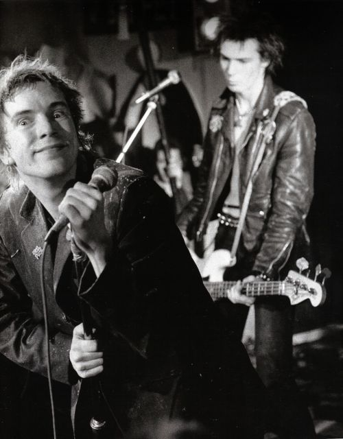 Johnny Rotten & Sid Vicious from Sex Pistols