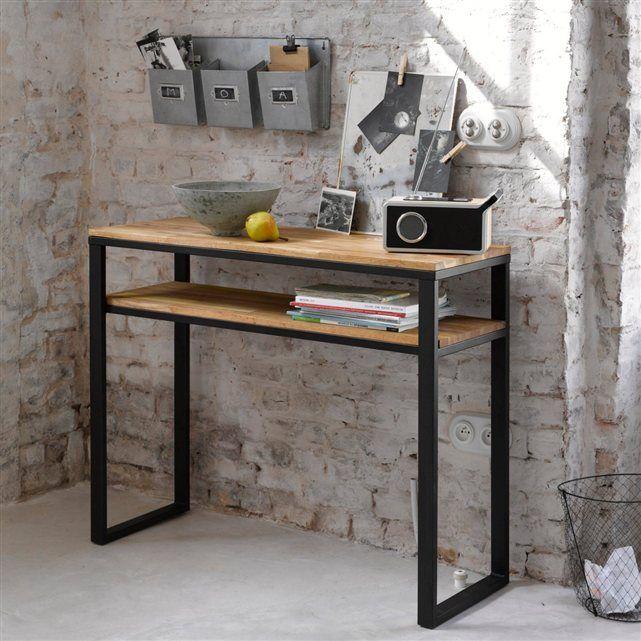 Le range courrier galva bendo id al dans le bureau ou la cuisine pour ranger - Console pour cuisine ...