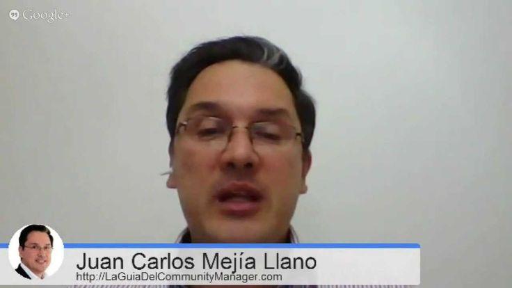 Social Media Guia con Ana Hilarski- Juan Carlos Mejia Llano (+playlist) #GooglePlus #HangOuts #RedesSociales