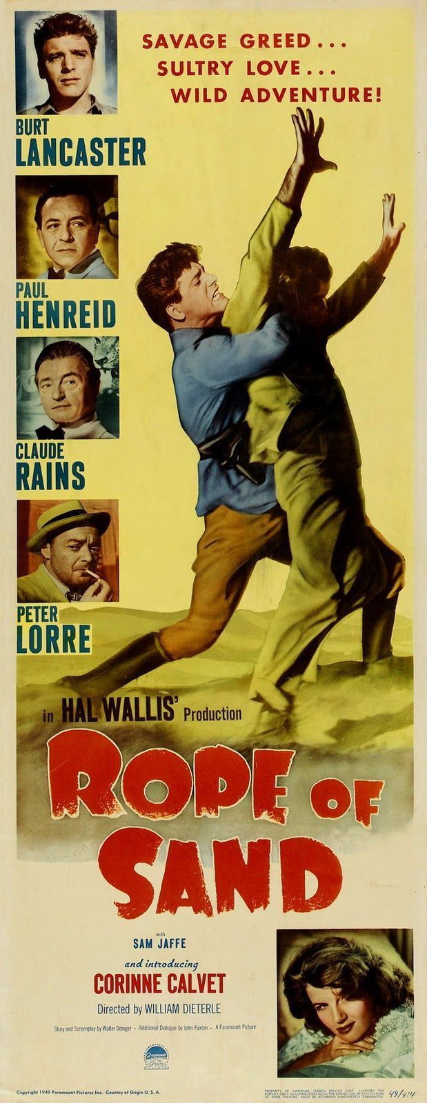 547 best Classic Adventure Movie Posters images on Pinterest ...